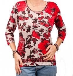 "Shirt ""Bloomy Grafic"""