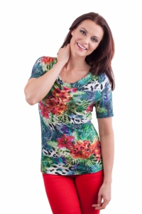 """Shirt """"Tropical Breeze"""""""