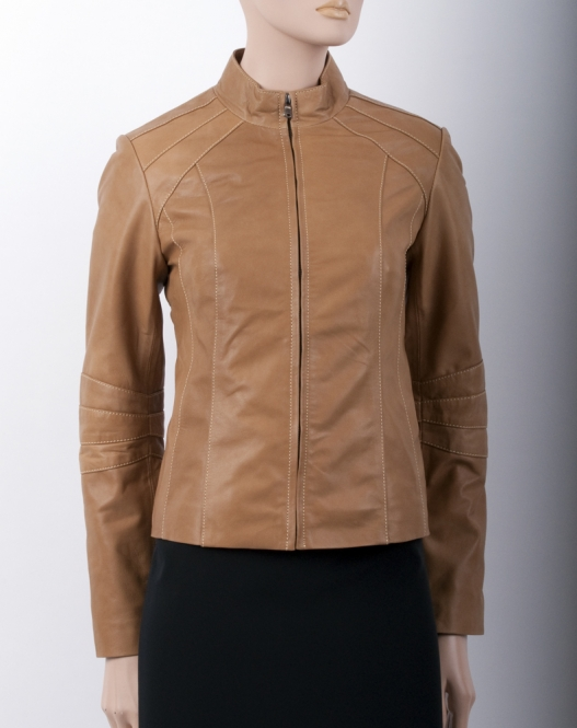 "Lederjacke ""Leather six"""