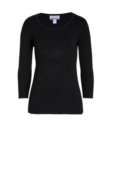 Pullover Basic black